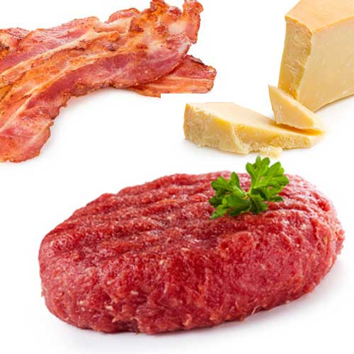 Hamburguesa-Bacon-Queso